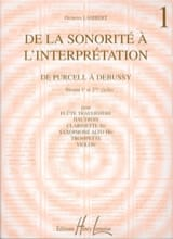 Georges Lambert - From sound to interpretation - Volume 1 - Sheet Music - di-arezzo.co.uk