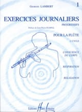 Exercices Journaliers Volume 1 - Georges Lambert - laflutedepan.com