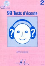 Annie Ledout - 99 Tests D'écoute Volume 2 - Partition - di-arezzo.fr
