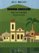 Modinha Brasileira Celso Machado Partition Guitare - laflutedepan.com