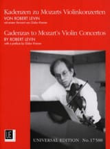 Kadenzen zu Mozarts Violinkonzerten Robert Levin laflutedepan.com
