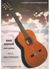 Suite Santa Fé Raul Maldonado Partition Guitare - laflutedepan.com