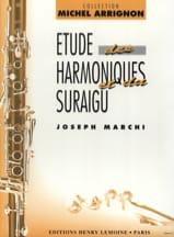 Etudes des harmoniques et du suraigu Joseph Marchi laflutedepan.com
