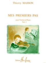 Mes premiers pas, Volume 3 - Violon Thierry Masson laflutedepan.com