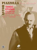Tango-Etudes - Flute ou Violon Astor Piazzolla laflutedepan.com