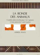 Adrien Politi - Ronde des animaux - Partition - di-arezzo.fr