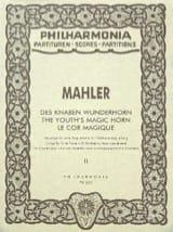 Des Knaben Wunderhorn - Band 2 - Partitur laflutedepan.com
