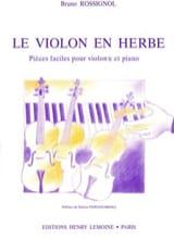 Le Violon en Herbe Bruno Rossignol Partition Violon - laflutedepan