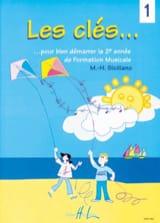Les Clés... Volume 1 - SICILIANO - Partition - laflutedepan.com
