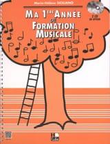 Ma 1ère année de Formation Musicale - SICILIANO - laflutedepan.com