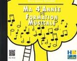 CD / Ma 4ème année de formation musicale SICILIANO laflutedepan.com