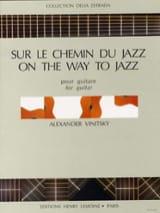 Sur le chemin du Jazz Alexander Vinitsky Partition laflutedepan.com