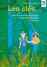 Les Clés... Volume 3 SICILIANO Partition Solfèges - laflutedepan.com