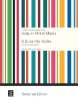 MAZAS - 6 Very easy Duets op. 60 - Sheet Music - di-arezzo.co.uk