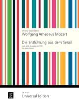 Wolfgang Amadeus Mozart - Die Entführung aus dem Serail – 2 Violinen - Partition - di-arezzo.fr