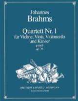 BRAHMS - Klavierquartett Nr. 1 g-moll op. 25 - Stimmen - Sheet Music - di-arezzo.co.uk