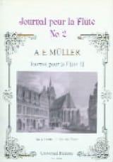 August Eberhard Müller - Journal pour la flûte 2 – 2 Flöten - Partition - di-arezzo.fr