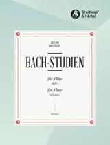 Bach-Studien für Flöte - Heft 1 - laflutedepan.com