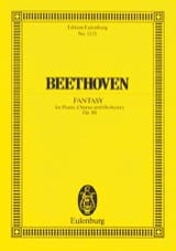 BEETHOVEN - Chorfantasie c-moll - Partitura - di-arezzo.it