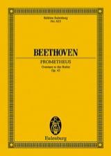 Die Geschöpfe des Prometheus, op. 43 BEETHOVEN laflutedepan.com