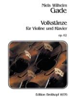 Volkstänze op. 62 - Niels Wilhelm Gade - Partition - laflutedepan.com