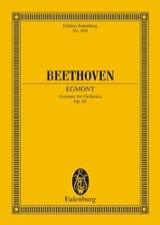 Egmont, Ouverture BEETHOVEN Partition Petit format - laflutedepan.com