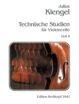 Julius Klengel - Technische Studien - Heft 2 - Sheet Music - di-arezzo.co.uk