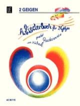 Michael Radanovics - 1 Liederbuch für 2 Geigen - Partition - di-arezzo.fr
