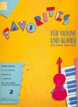Favorites 2 Michael Radanovics Partition Violon - laflutedepan.com