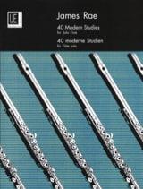 40 Modern studies – flute solo James Rae Partition laflutedepan.com