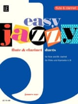 James Rae - Easy Jazzy Duets – Flute clarinet - Partition - di-arezzo.fr