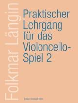 Folkmar Längin - Lehrgang Violoncellospiel - Heft 2 - Partitura - di-arezzo.it