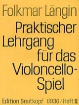 Folkmar Längin - Lehrgang Violoncellospiel - Heft 3 - Partitura - di-arezzo.it