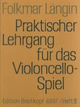 Folkmar Längin - Lehrgang Violoncellospiel - Heft 4 - Sheet Music - di-arezzo.co.uk