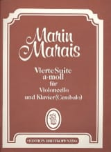 Marin Marais - Vierte Suite a-moll - Cello - Sheet Music - di-arezzo.com