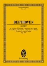 Oktett Es-Dur Mib M. - Conducteur laflutedepan.com