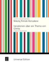 Variationen über ein Thema von Glinka – Oboe Klavier laflutedepan.com