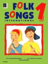 Folksongs International Volume 1 - 2 Sopranflöten laflutedepan.com