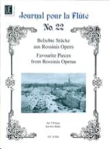 Beliebte Stücke aus Rossinis Opern - 2 Flöten - laflutedepan.com