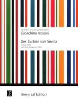 Gioacchino Rossini - Der Barbier von Sevilla - 2 Flöten - Partition - di-arezzo.fr