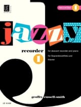 Jazzy Recorder 1 Geoffry Russell-Smith Partition laflutedepan.com