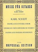 Dänische und schwedische Weisen Karl Scheit Partition laflutedepan