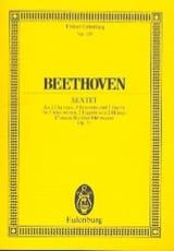 Sextett Es-Dur, Op. 71 BEETHOVEN Partition laflutedepan.com