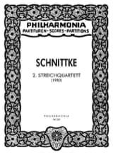 Streichquartett Nr. 2 - Partitur Alfred Schnittke laflutedepan.com