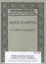 Streichquartett Nr. 4 –Partitur - Alfred Schnittke - laflutedepan.com