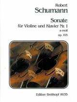 Robert Schumann - Sonate n° 1 a-moll op. 105 - Partition - di-arezzo.fr