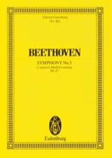 Symphonie Nr. 5 c-Moll BEETHOVEN Partition laflutedepan.com
