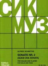 Alfred Schnittke - Quasi una Sonata - Partition - di-arezzo.ch