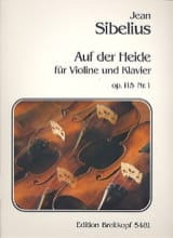 Jean Sibelius - Auf der Heide op. 115 n° 1 - Partition - di-arezzo.fr