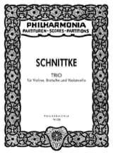 Trio 1985 - Partitur Alfred Schnittke Partition laflutedepan.com